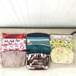 IPSY BAGS - SET OF 11